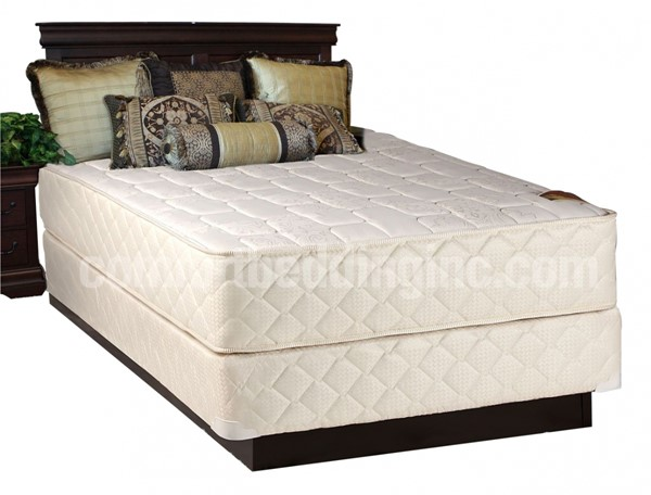 Comfort Bedding Grandeur Tight Top Firm Double Sided Queen Mattress and Box M502-06