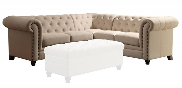 Coaster Furniture Roy Sectional without Ottoman CST-500222