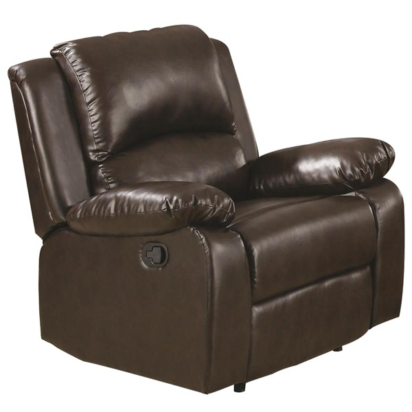 Coaster Furniture Boston Brown Recliner CST-600973