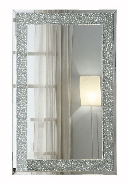 Rectangle Wall Mirror w/Beveled Frame CST-901589