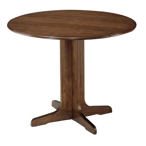 Ashley Furniture Stuman Round Drop Leaf Table D293-15