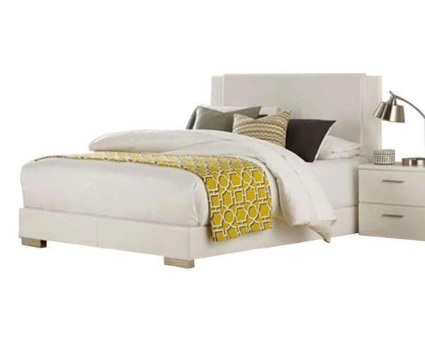 Home Elegance Linnea White King Bed HE-1811KW-1EK