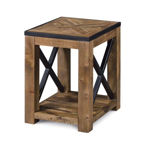Magnussen Home Penderton Wood Chairside End Table MG-T2386-10