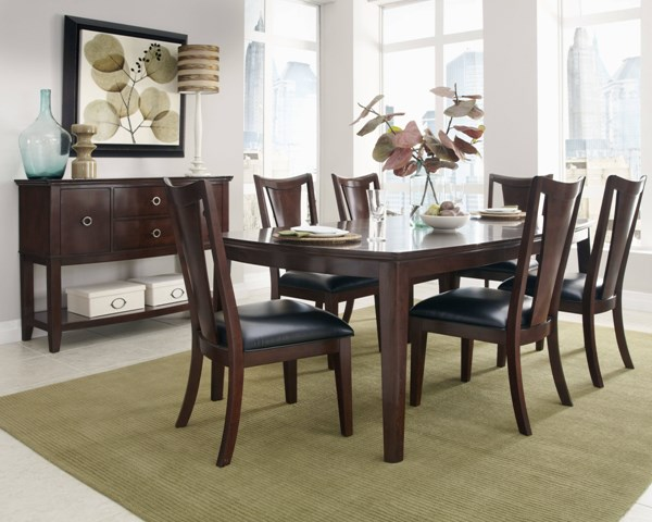 Park Avenue Transitional Cherry Wood Dining Room Set std-11940-DR
