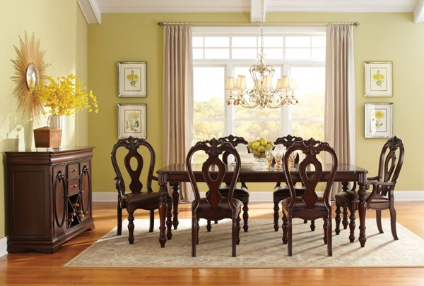 Westchester Traditional Cherry Wood Dining Room Set std-1622-DR