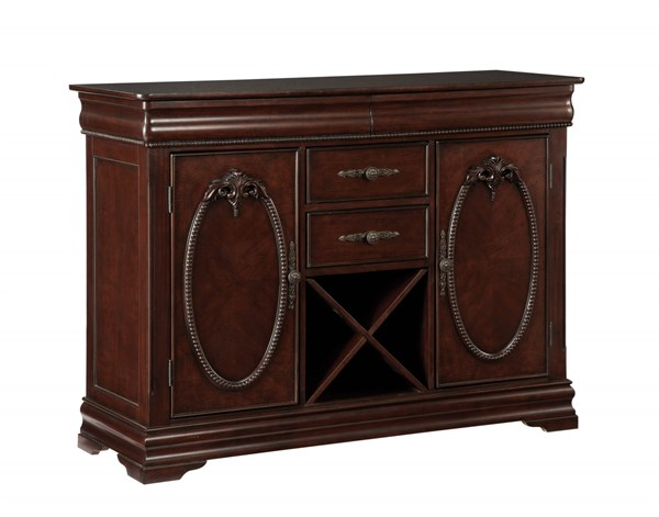 Westchester Traditional Cherry Wood Server STD-16228