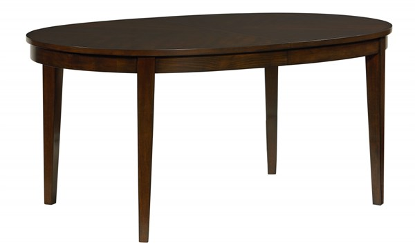 Serenity Modern Dark Merlot Wood 18 Inch Leaf Dining Table STD-17141