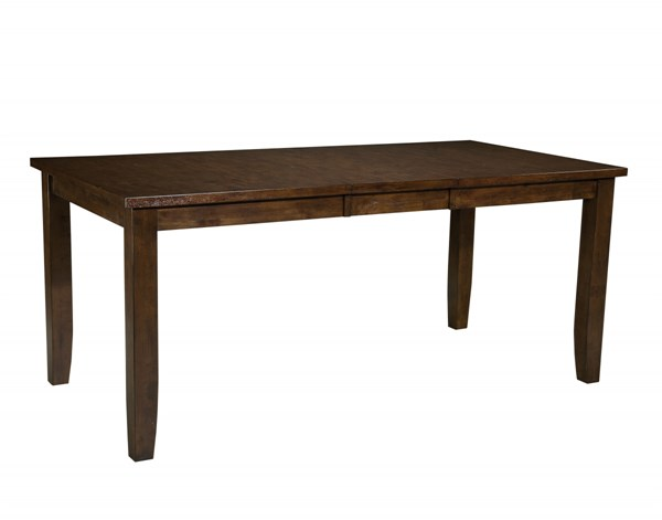 Abaco Casual Tobacco Brown Wood 18 Inch Leaf Counter Height Table STD-18931