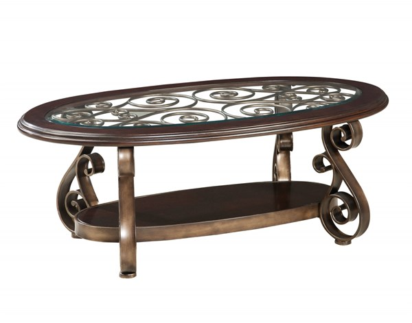 Standard Furniture Bombay Oval Cocktail Table STD-21601