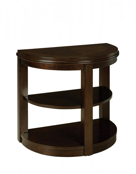 Spencer Transitional Cherry Wood Glass Chair Side Table STD-23795