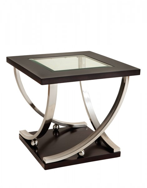 Standard Furniture Melrose Glass End Table STD-25922