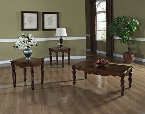 Kensington Traditional Cherry Wood 3 In 1 Pack std-26973