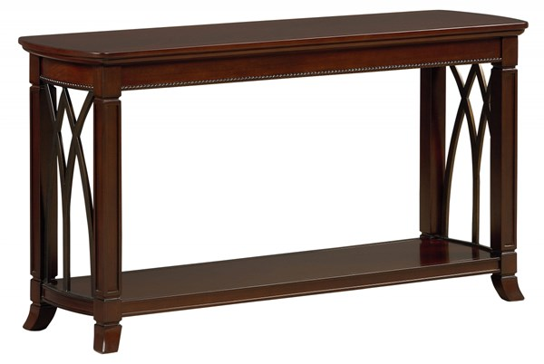 Abbey Traditional Cherry Wood Sofa Table STD-27117