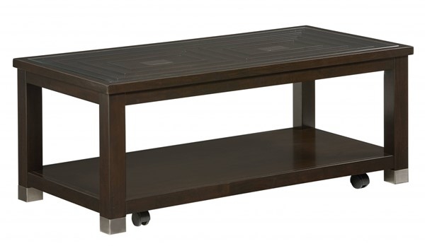 Standard Furniture Colton Dark Merlot Table Cocktail STD-29071