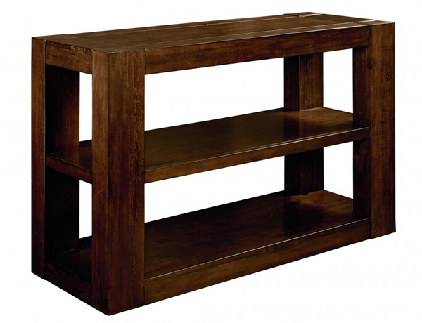 Franklin Contemporary Brown Cherry Wood Console Table STD-29366