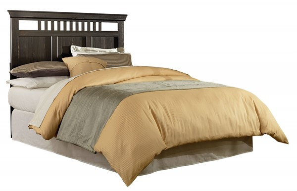 Hampton Transitional Coffee Brown Wood Full/Queen Headboard STD-52051