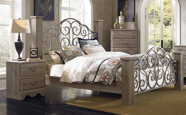 Standard Furniture Timber Creek 2pc Bedroom Set With King Bed The Classy Home