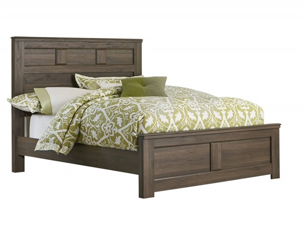 Hayward Dark Brown Wood Queen Panel Footboard STD-56512