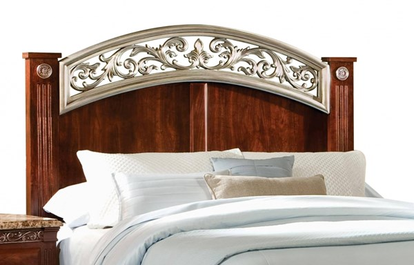 Triomphe Cherry Wood Full/Queen Panel Headboard STD-57201