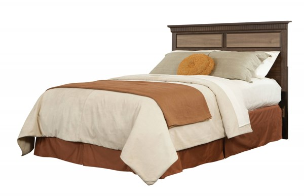 Weatherly Transitional Brown Cherry Wood Full/Queen Panel Headboard STD-68152