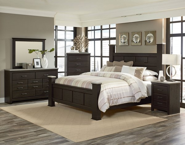 Standard Furniture Stonehill Brown 2pc Bedroom Set with Queen Bed ...