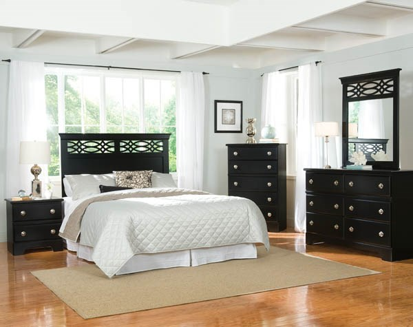 Carson 5pcs Bedroom Sets W Twin Beds The Classy Home