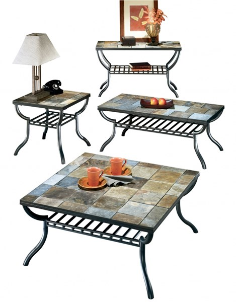 Ashley Furniture Antigo 4pc Coffee Table Set The Classy Home