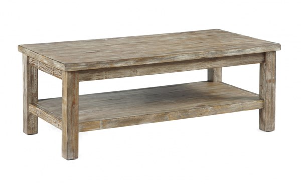 Rustic Accents Casual Wood Coffee Table Set T500