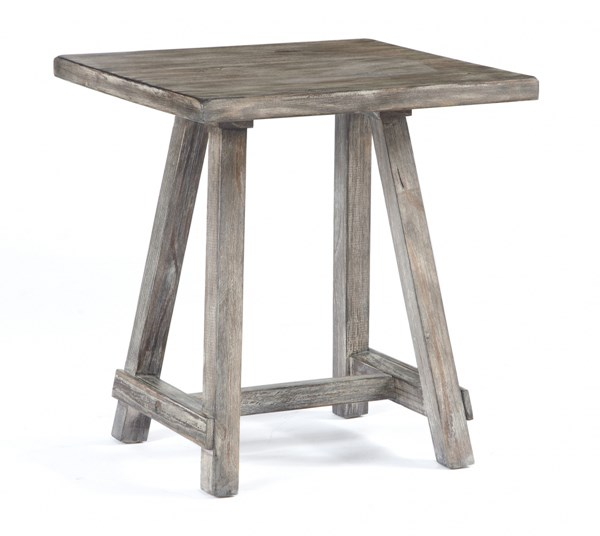 Rustic Accents Gray/Brown Chairside End Table T500-502