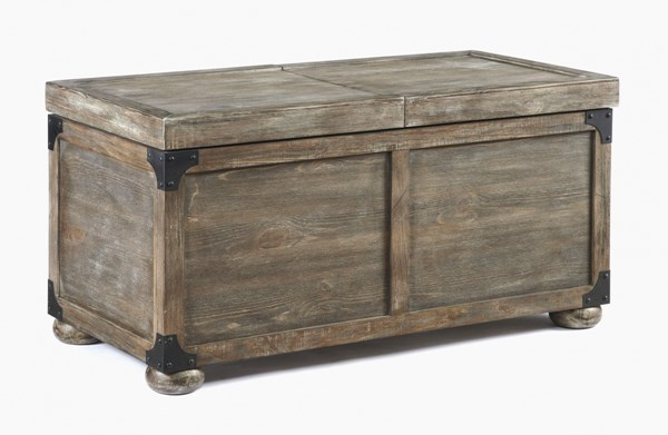 Rustic Accents Gray/Brown Storage Cocktail Table T500-720