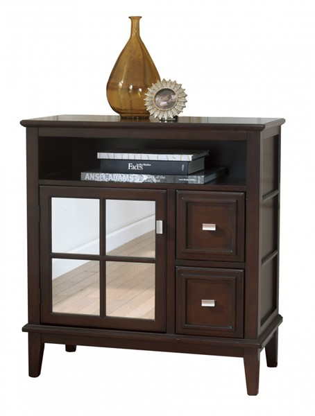 Larimer Contemporary Dark Brown Wood Console Table T654-40