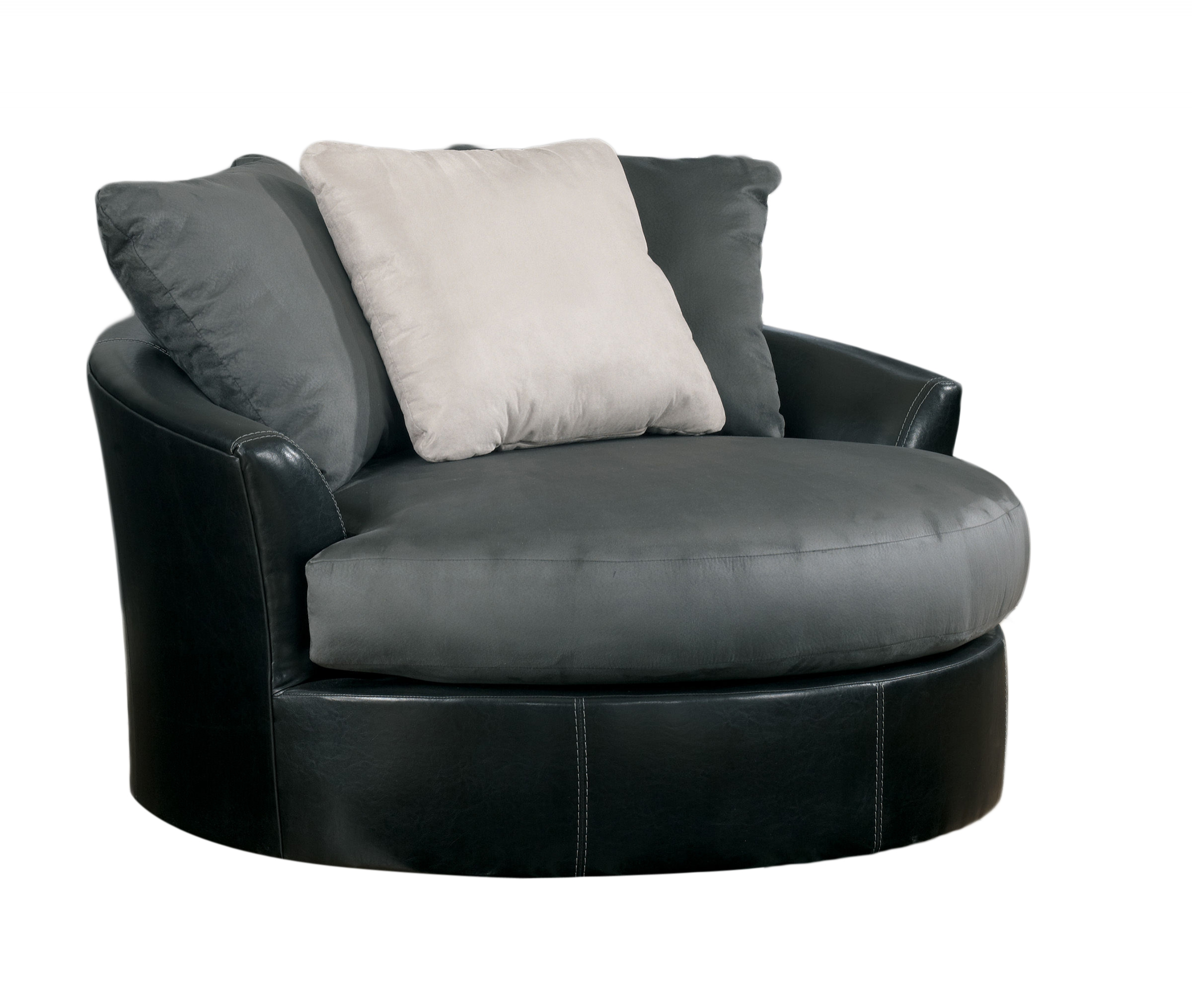Attrayant ... Oversized Swivel Accent Chair Click To Enlarge ...