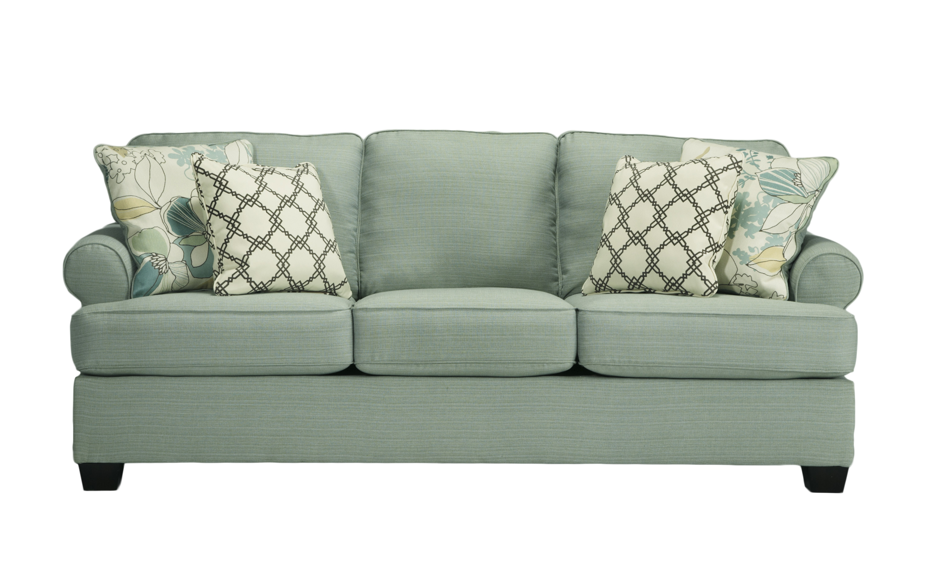 Ashley Furniture Daystar Seafoam Sofa Click To Enlarge