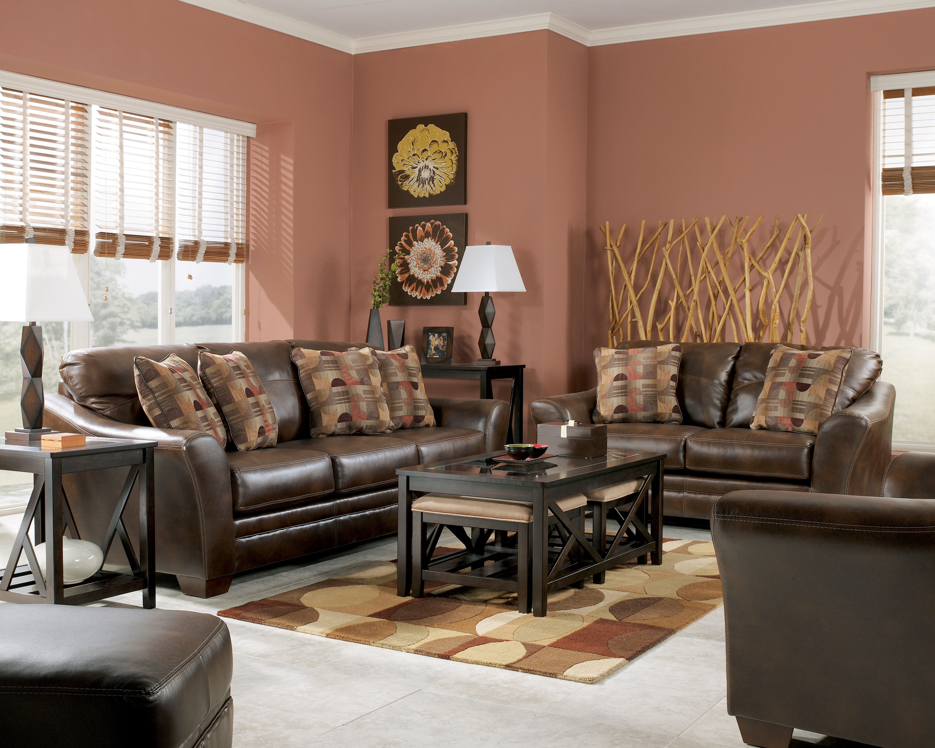 Del rio durablend sedona living room set the classy for Best living room set deals