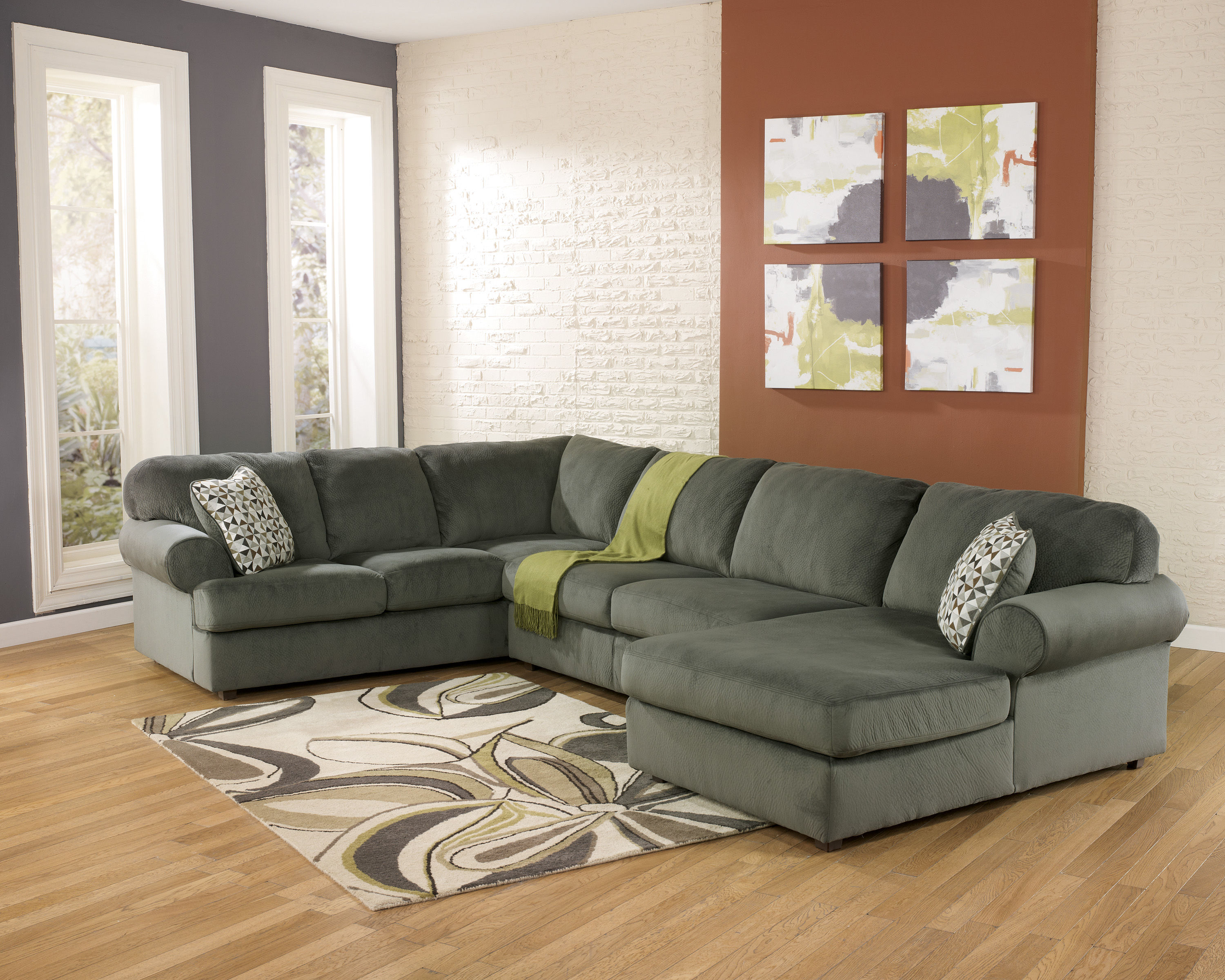 right chaise design by ashley dune furniture sectional casual sofa wayside jessa with place collections item signature