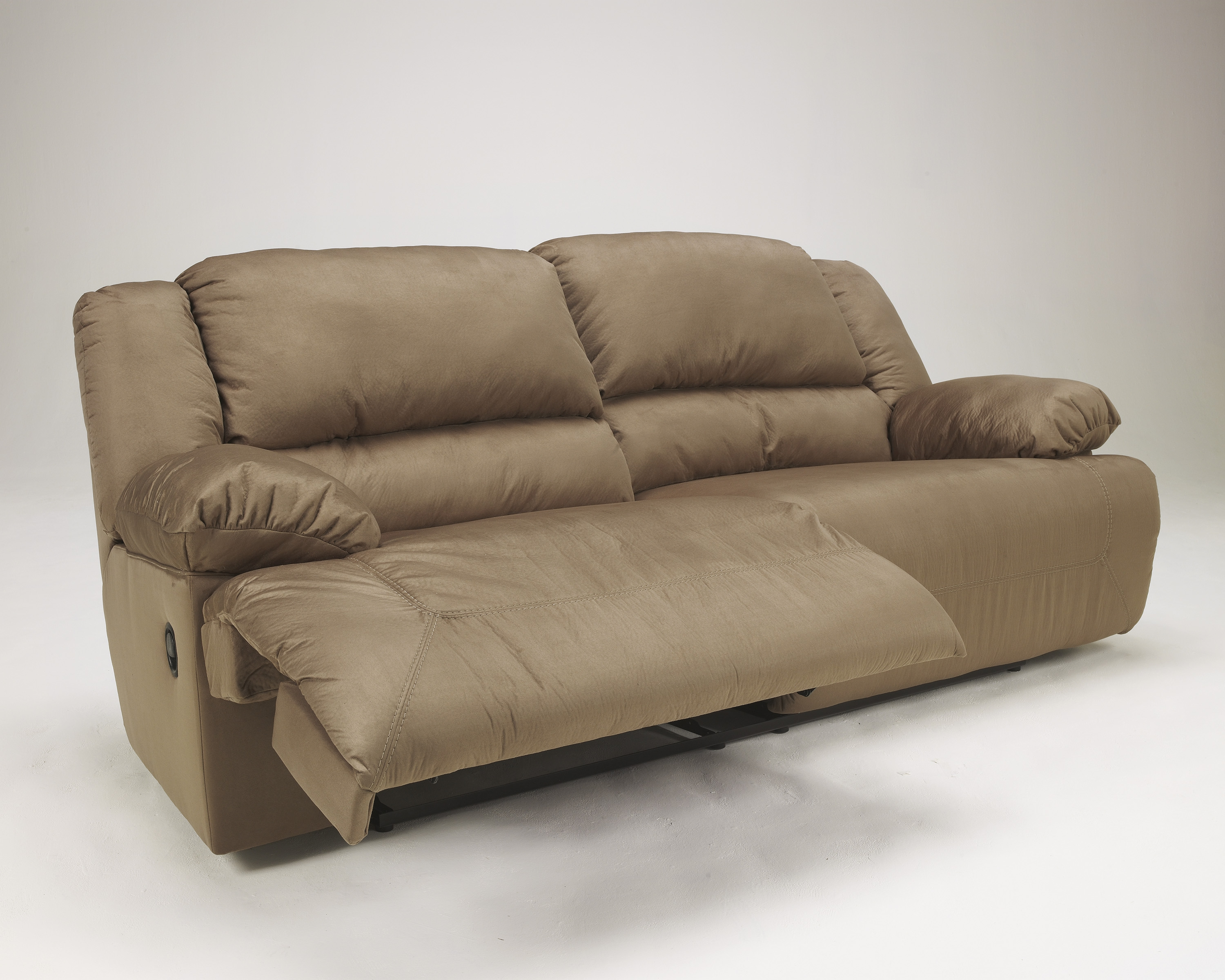 Hogan Contemporary Mocha 2 Seat Reclining Sofa