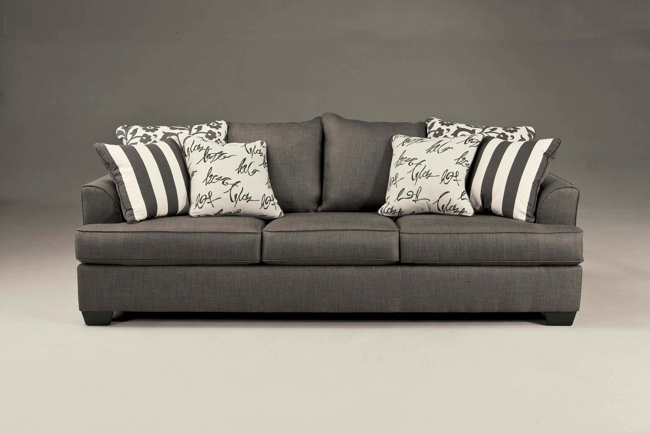 Ashley Furniture Levon Charcoal Sofa The Classy Home