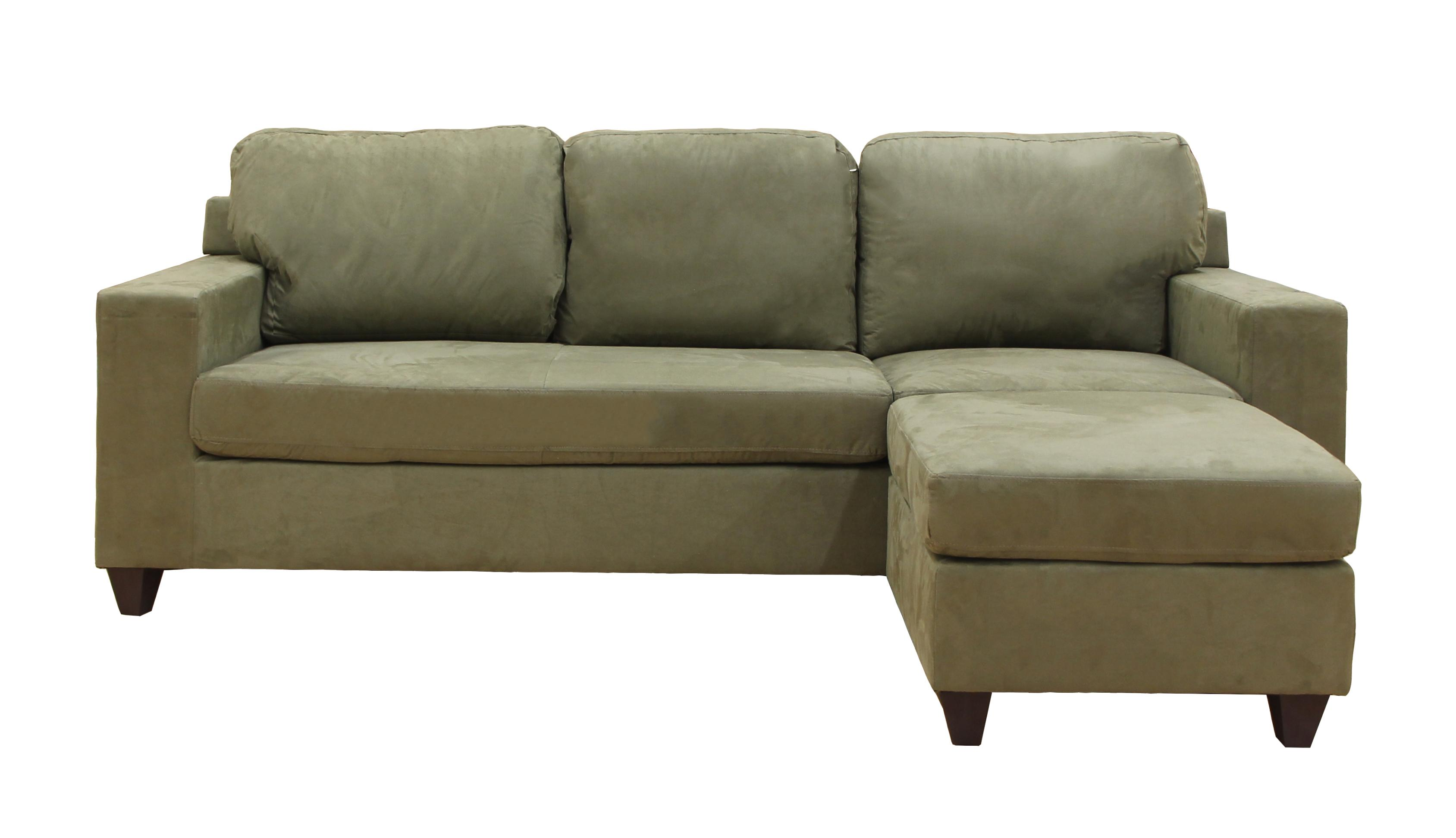 Incredible Acme Furniture Vogue Sage Reversible Chaise Sectional The Bralicious Painted Fabric Chair Ideas Braliciousco