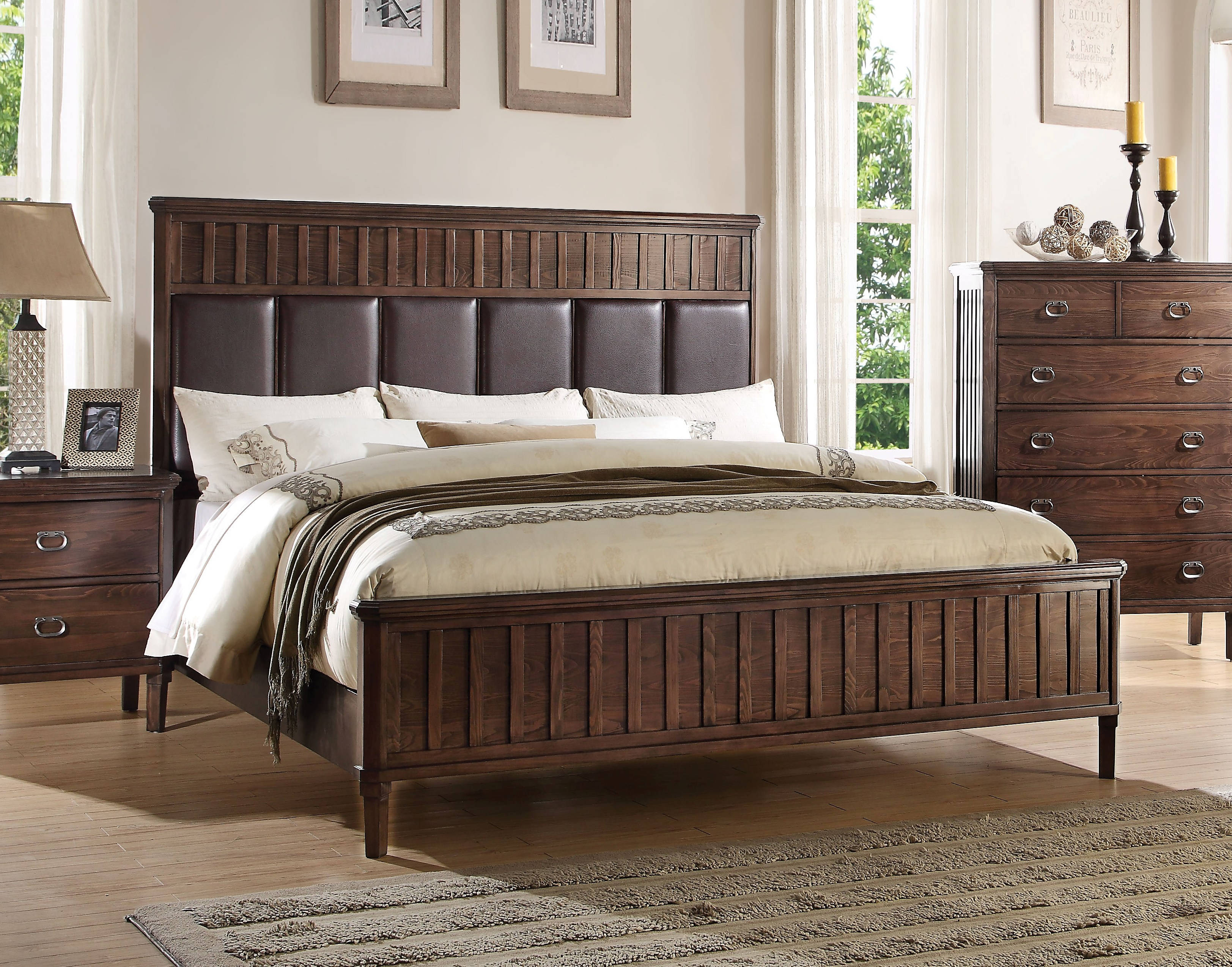 Acme furniture mazen valle master bedroom set the classy home No dresser in master bedroom