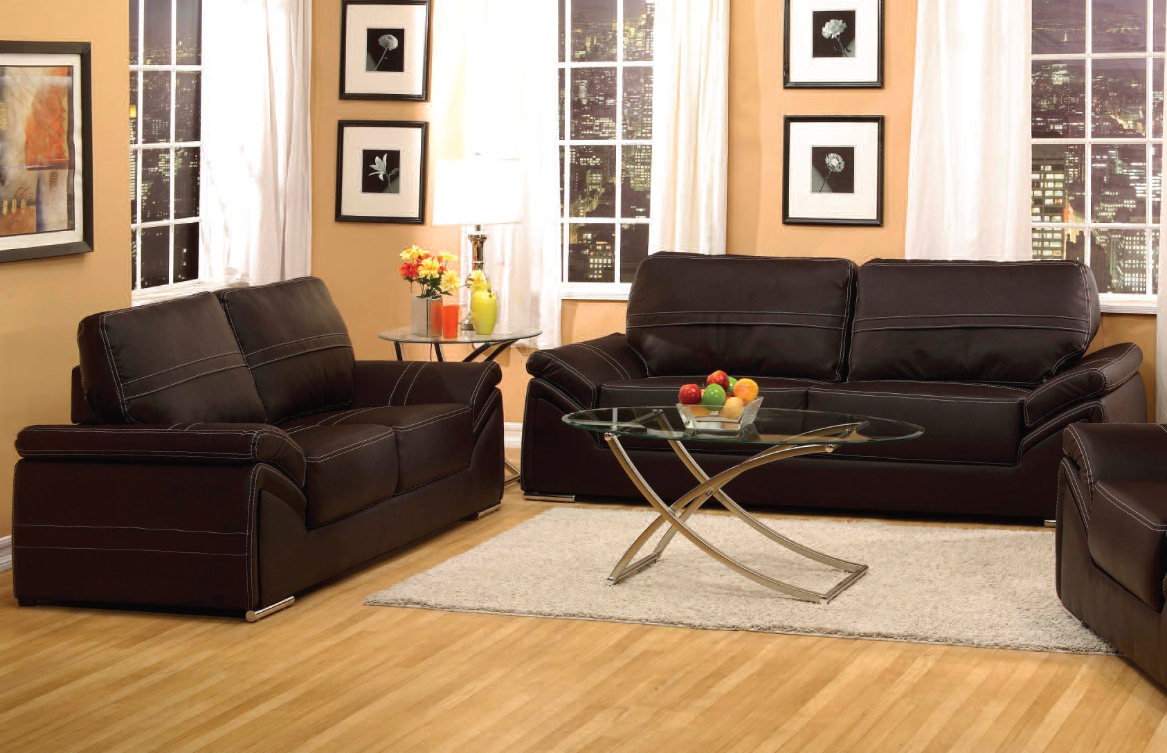 Acme furniture ember espresso living room set the classy for Living room sets under 700