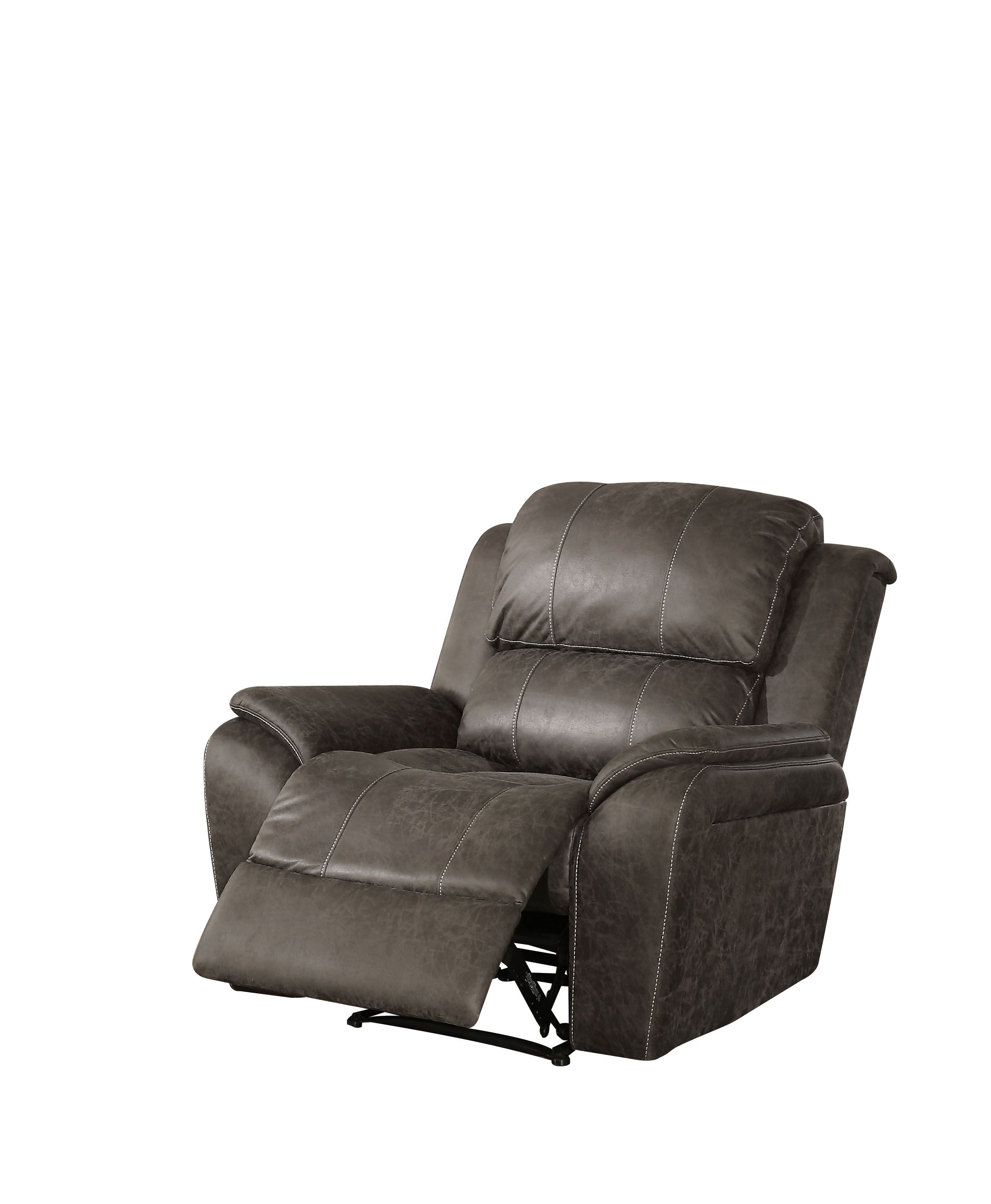 Awesome Acme Furniture Barnaby Gray Recliner Beatyapartments Chair Design Images Beatyapartmentscom