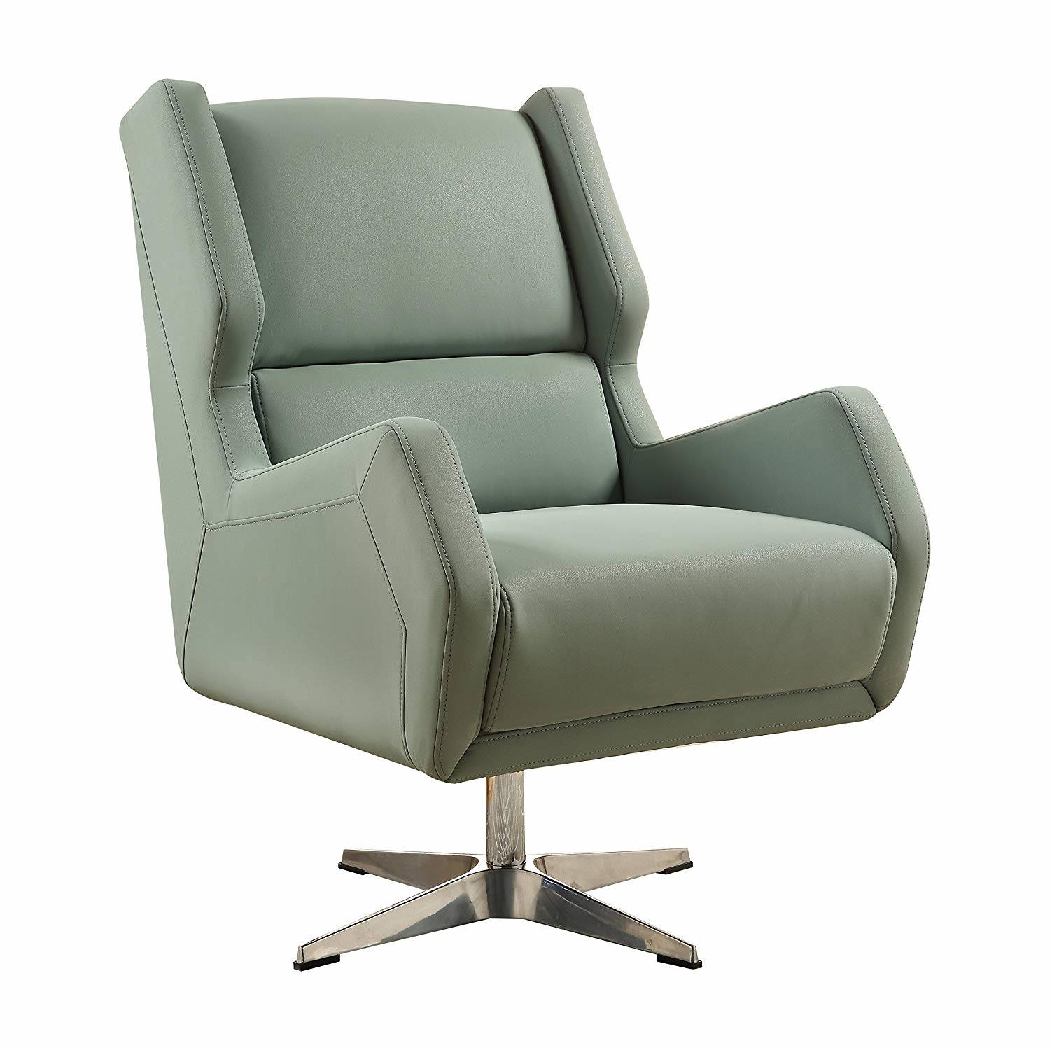 Surprising Acme Furniture Eudora Ii Gray Accent Chair Gmtry Best Dining Table And Chair Ideas Images Gmtryco