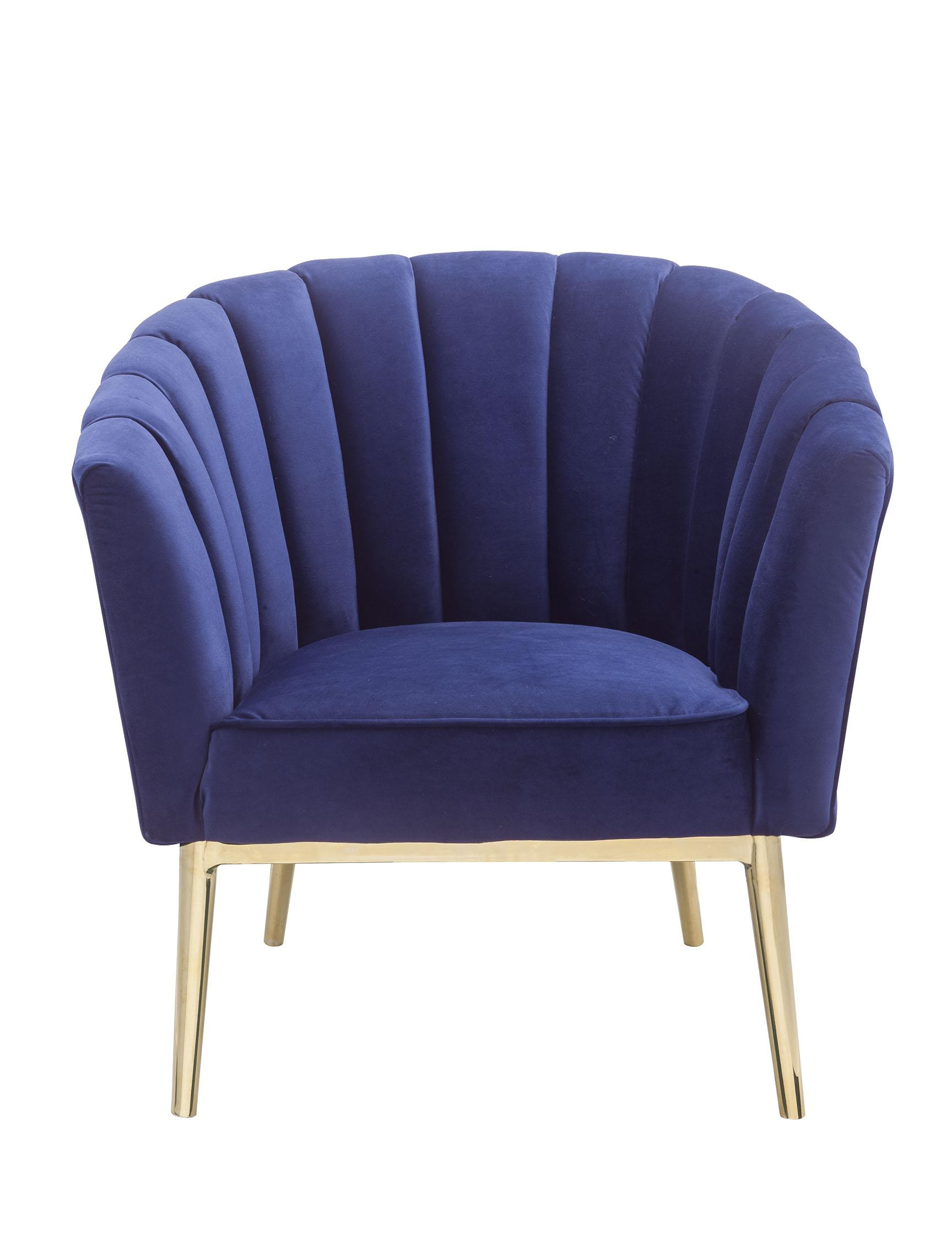 Sensational Acme Furniture Colla Blue Accent Chair Pabps2019 Chair Design Images Pabps2019Com