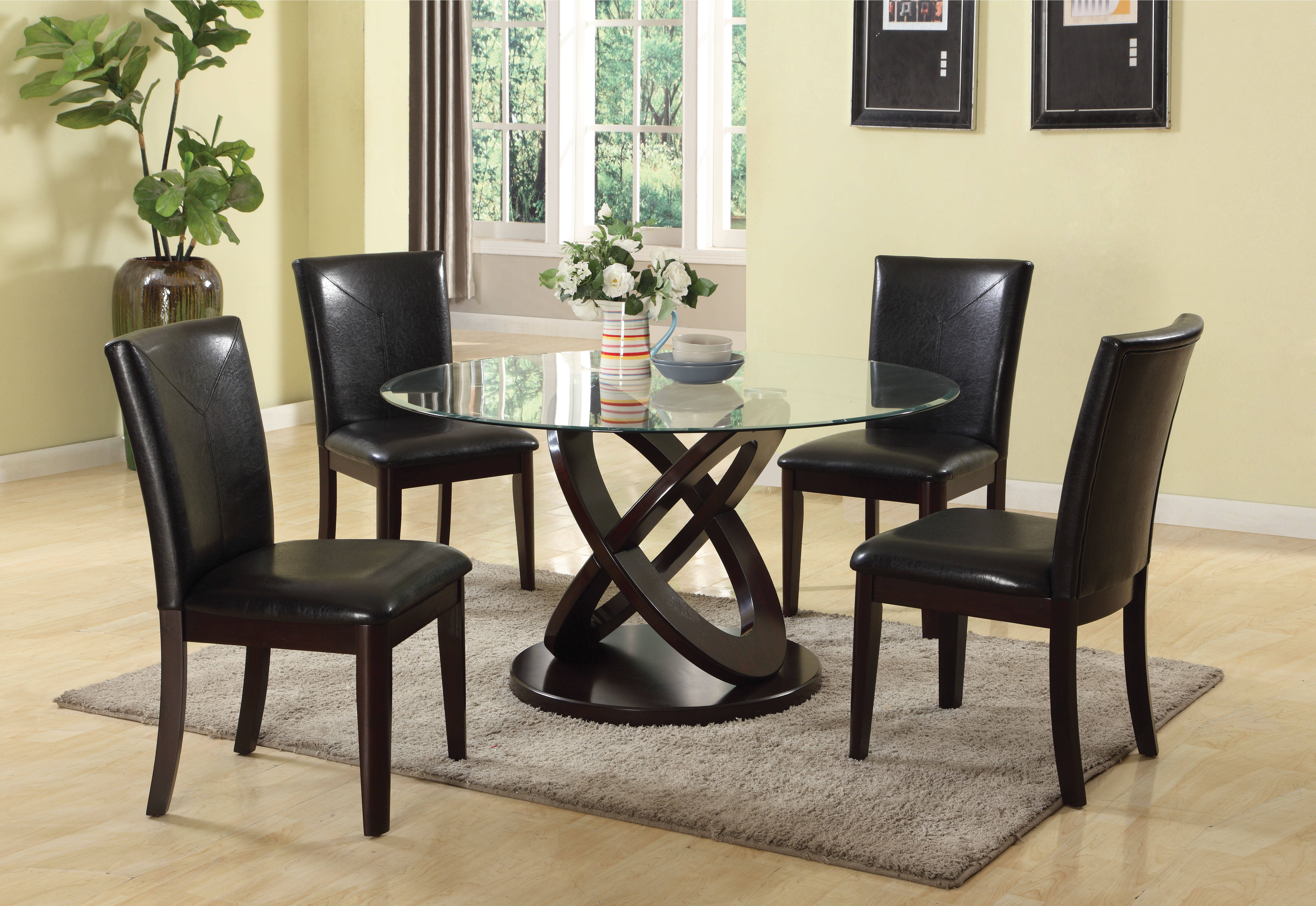 Acme Furniture Gable Espresso Dining Room Set The Classy