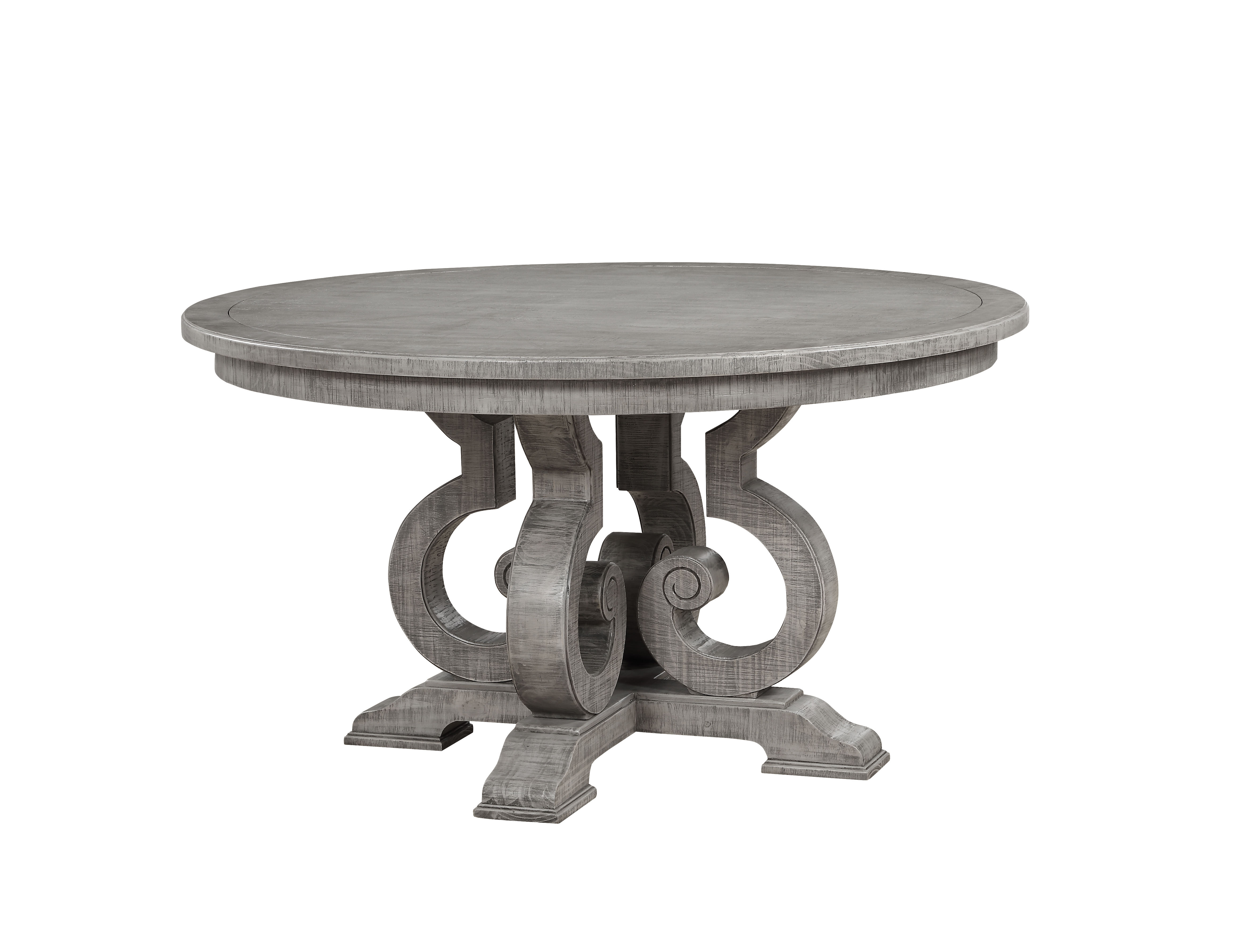 Acme Furniture Artesia Salvaged Natural 54 Inch Round Dining Table