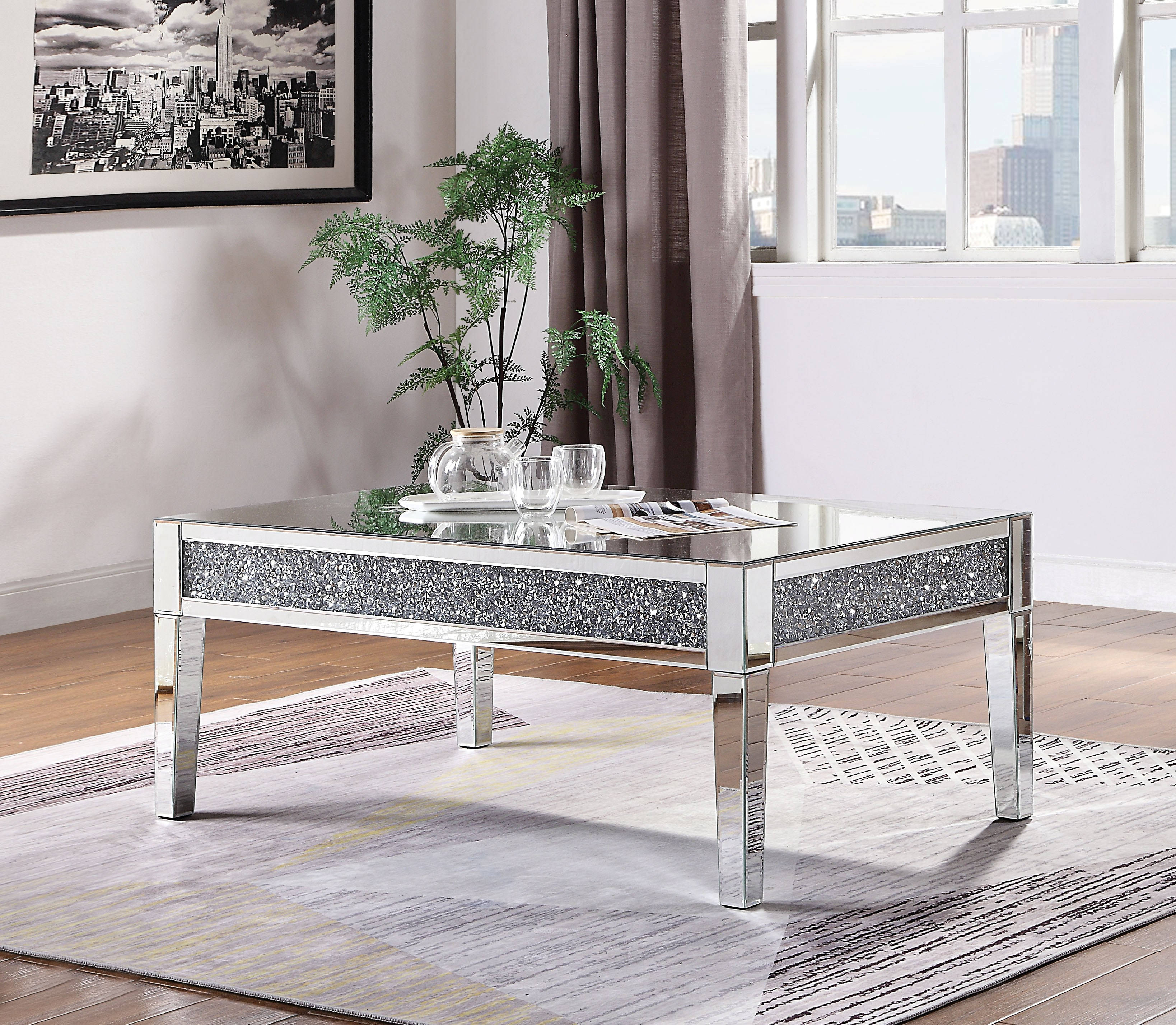 Acme Furniture Noralie Coffee Table The Classy Home
