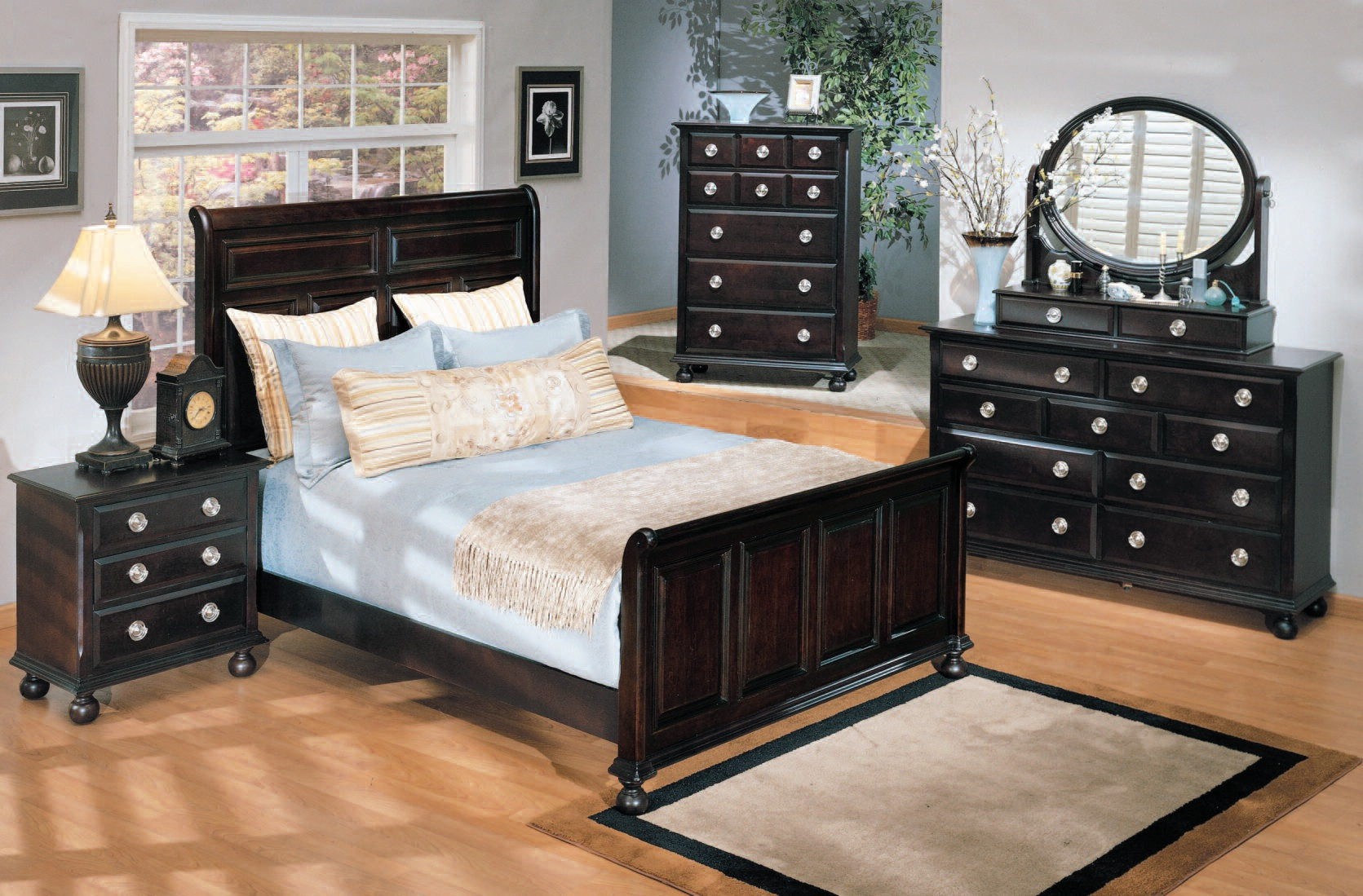 Acme furniture amherst espresso master bedroom set the classy home No dresser in master bedroom