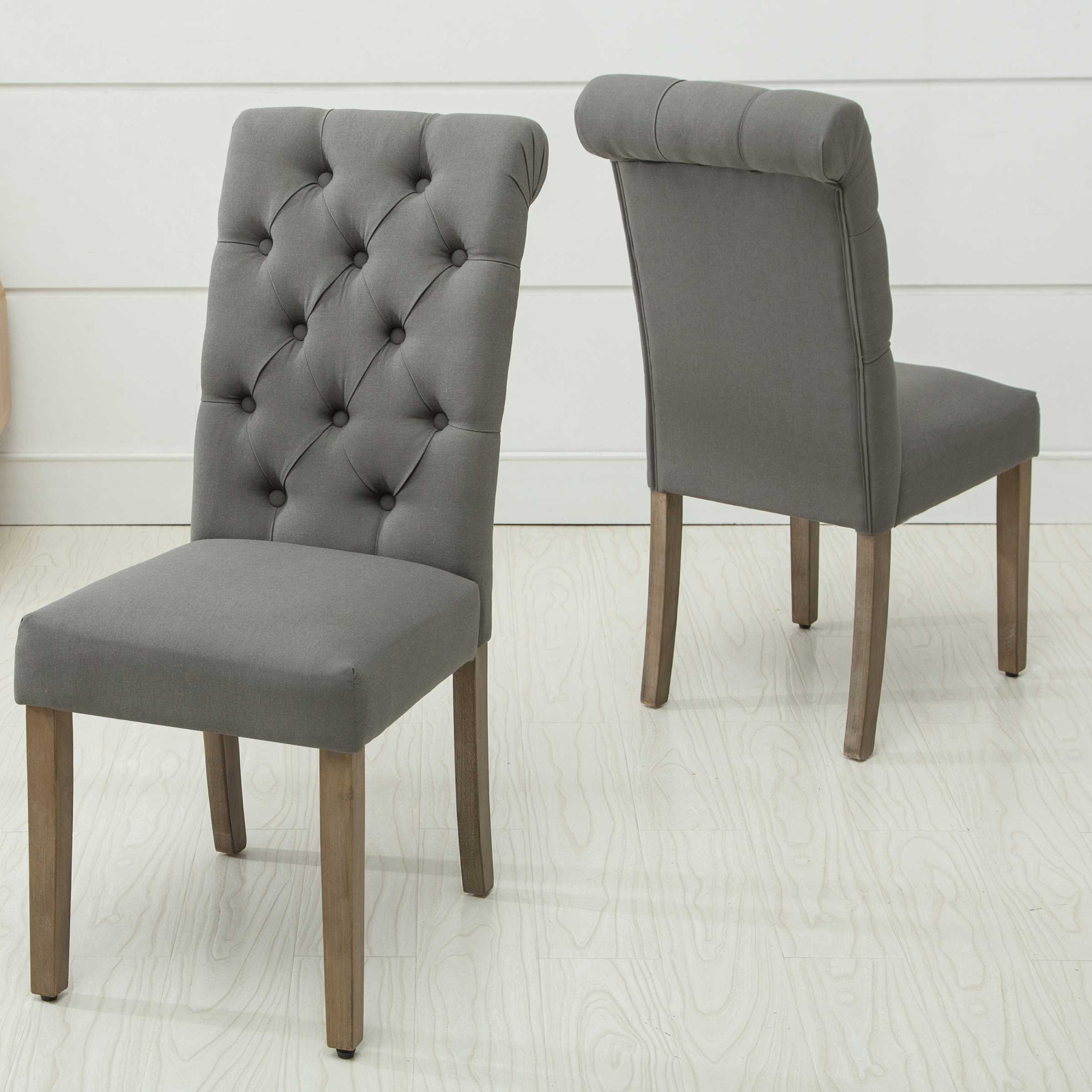 2 ac pacific d 006 grey dining chairs