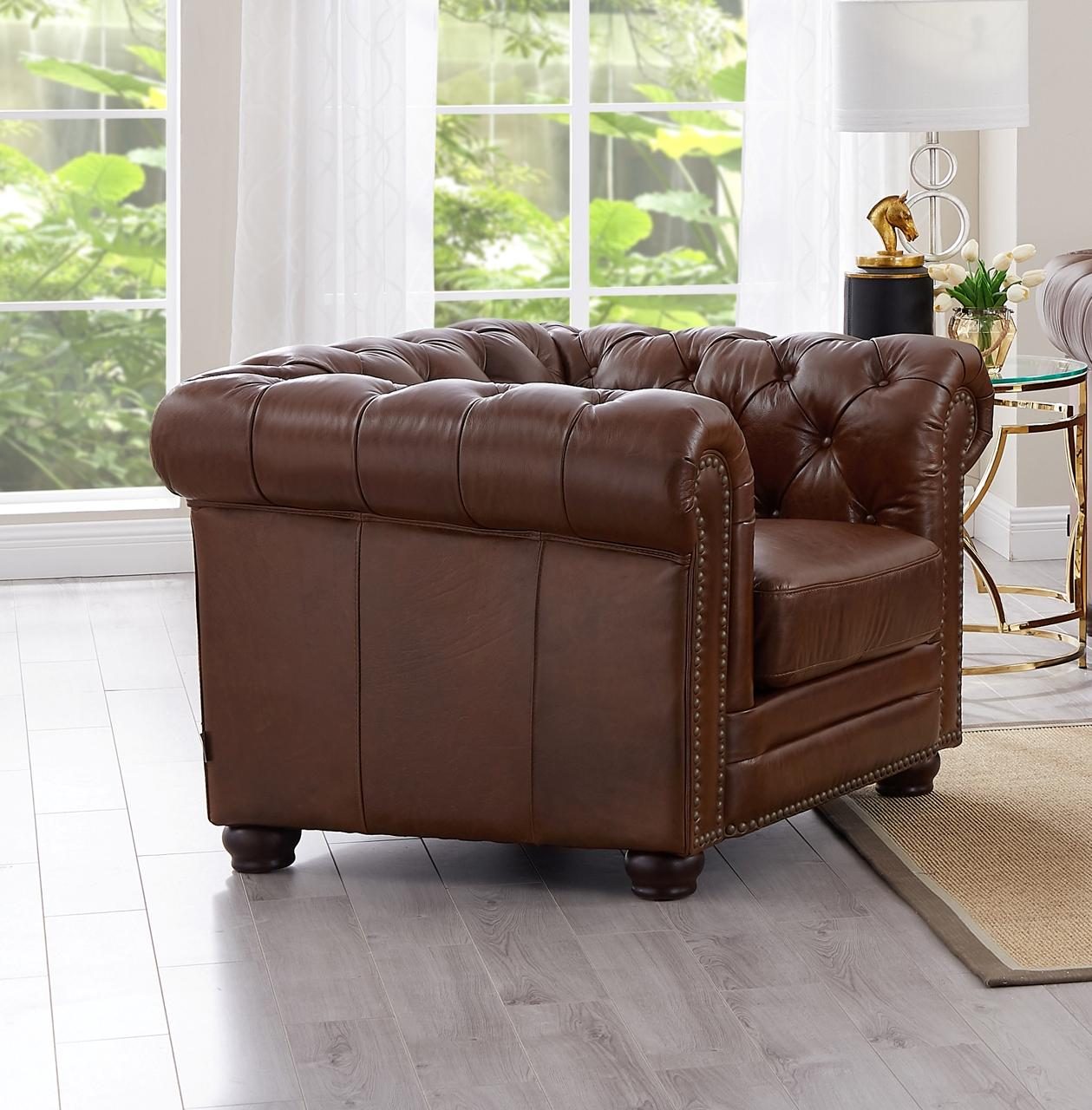 Amax Leather Madison Tobacco Chair Click To Enlarge ...