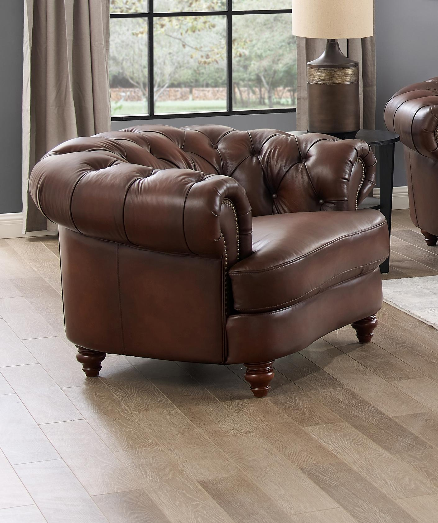 Hydeline Melton Dark Brown Chair